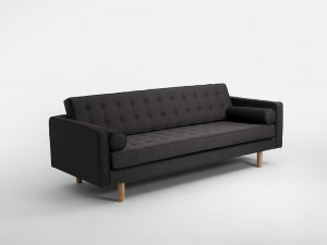 Sofa 3 os. TOPIC WOOD (różne kolory) CustomForm