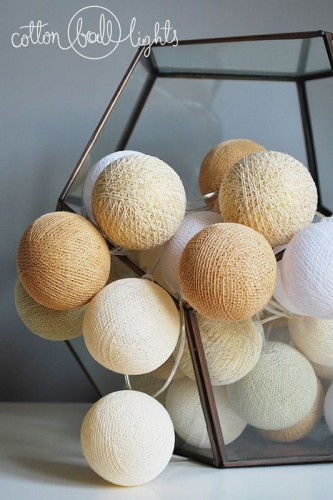 35 kul Sable Cotton Ball Lights