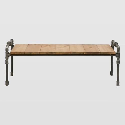 Stolik ławka Ze Stalowych Rurek Luigi Gie El